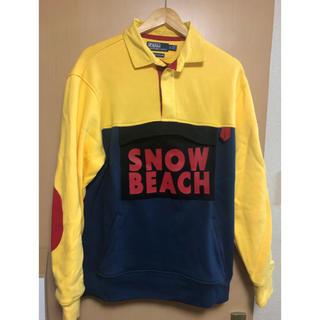 POLO RALPH LAUREN - POLO SNOW BEACH ラグビーシャツ Lサイズ