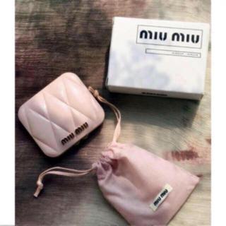 miumiu - miumiu ミュウミュウ香水のノベルティ ー ピンク ミラー