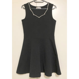 dazzy store - dazzystore ノースリーブ ワンピース ブラック ドレス