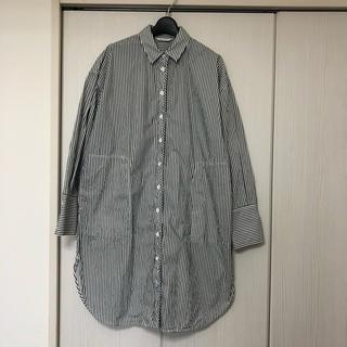 マウジー(moussy)のマウジー ストライプシャツ ロングシャツ(シャツ/ブラウス(長袖/七分))