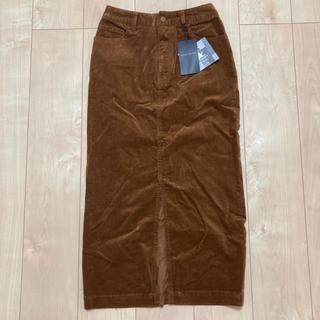 ブリスポイント(BLISS POINT)の新品 BLISS POINT コーデュロイ ロングスカート(ロングスカート)