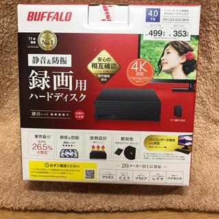 バッファロー(Buffalo)のHD-LD4.0U3-BKA バッファロー 4テラ HDD(PC周辺機器)