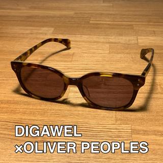 DIGAWEL - サングラス DIGAWEL × OLIVER PEOPLES製 ウェリントン