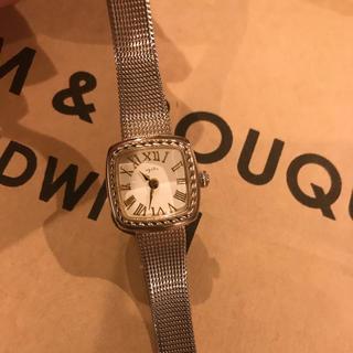 アガット(agete)のagete スクエアフェイス 腕時計(腕時計)