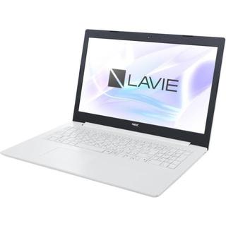 NEC - NEC LAVIEノートパソコンカームホワイト