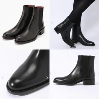 サルトル(SARTORE)のサルトル  SARTORE サイドゴア ブーツ 19AW ブラック 36 美品(ブーツ)