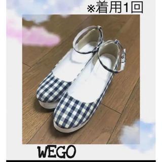 ウィゴー(WEGO)のWEGO ウィゴー ギンガムチェック ハイヒール サンダル (ハイヒール/パンプス)