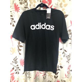 adidas - 【新品タグ付】adidas★アディダス ★綿100%Tシャツ★黒★Oサイズ