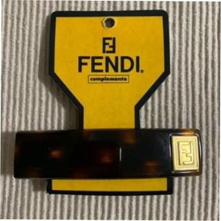 フェンディ(FENDI)のFENDIバレッタ(バレッタ/ヘアクリップ)