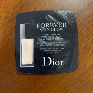 ディオール(Dior)のDior ファンデーション 試供品(ファンデーション)