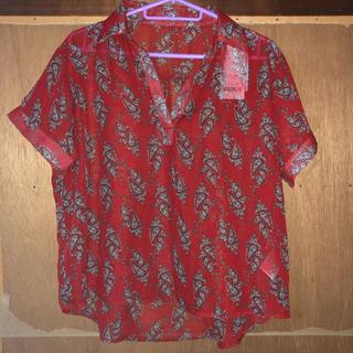 ウィゴー(WEGO)のWEGO スキッパーシャツ (シャツ/ブラウス(半袖/袖なし))