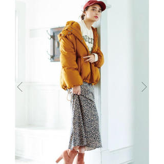 COCO DEAL - COCODEAL バイアスレオパードスカート
