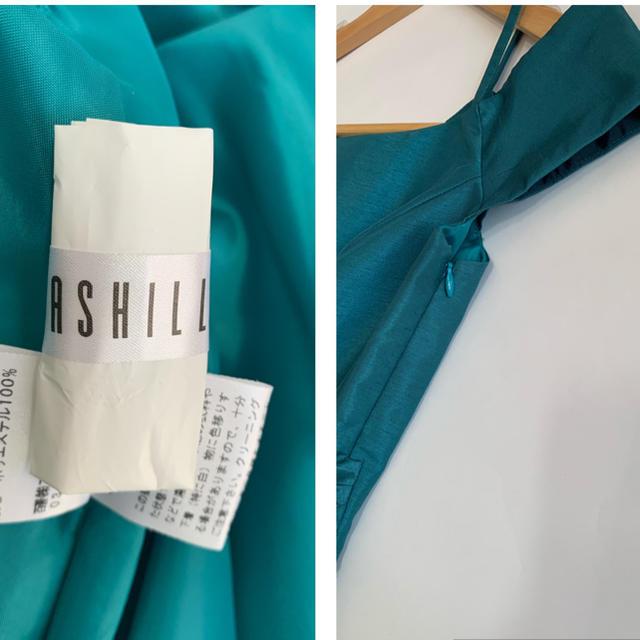 【美品】ASHILLアシールワンピース ドレス ☆38 結婚式 フォーマルに ♪ レディースのフォーマル/ドレス(ミディアムドレス)の商品写真