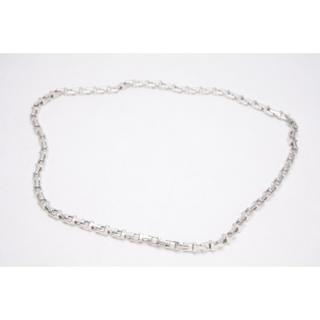 Tiffany & Co. - ティファニー Tナローチェーン ネックレス メンズ シルバー 925
