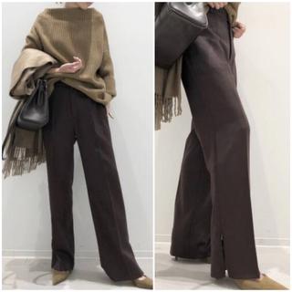 アパルトモンドゥーズィエムクラス(L'Appartement DEUXIEME CLASSE)の美品 アパルトモン  2018AW Side Zip Pants ジップ パンツ(カジュアルパンツ)