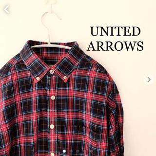 ユナイテッドアローズ(UNITED ARROWS)のユナイテッドアローズ チェックシャツ Mサイズ UNITED ARROWS(シャツ)