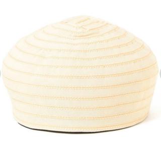 レイビームス(Ray BEAMS)のRayBeams グログランボーダーベレー帽(ハンチング/ベレー帽)