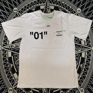 オフホワイト(OFF-WHITE)のOFF-WHITE ホワイト レディースサイズ Tシャツ(Tシャツ(半袖/袖なし))