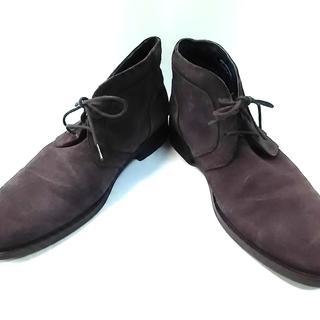 コールハーン(Cole Haan)のコールハーン ブーツ 8 メンズ スエード(ブーツ)