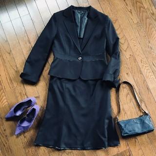ニジュウサンク(23区)のブラックスーツ 大きいサイズ(スーツ)