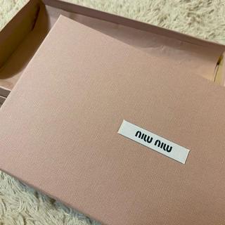 ミュウミュウ(miumiu)のmiumiu 箱 大(ショップ袋)