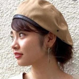 カスタネ(Kastane)の最終価格!カスタネ チノパイピングベレー帽(ハンチング/ベレー帽)