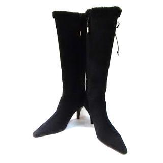 ラルフローレン(Ralph Lauren)のラルフローレン ロングブーツ 7 C 黒(ブーツ)