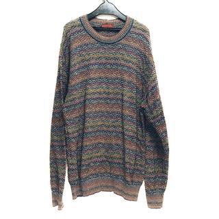 ミッソーニ 長袖セーター サイズM メンズ