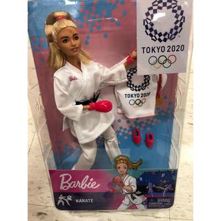 バービー(Barbie)のバービー 東京オリンピック 空手 barbie 新品 着せ替え人形 (ぬいぐるみ/人形)