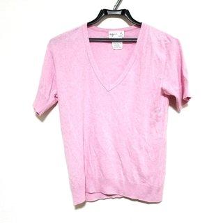 アニエスベー(agnes b.)のアニエスベー 半袖セーター サイズ2 M美品 (ニット/セーター)