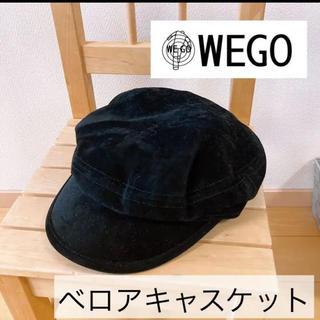 ウィゴー(WEGO)の【新品未使用】WEGOベロアキャスケット(キャスケット)