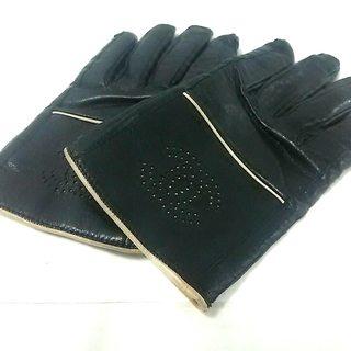 シャネル(CHANEL)のシャネル 手袋 レディース 黒 ココマーク(手袋)