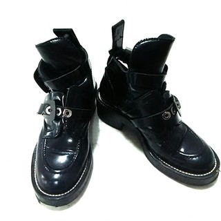 バレンシアガ(Balenciaga)のバレンシアガ ブーツ 35 レディース 黒(ブーツ)
