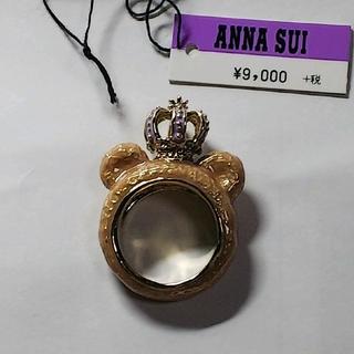 アナスイ(ANNA SUI)の新品 未使用 アナスイ ANNASUI0 リング 王冠 クマ モチーフ 13号(リング(指輪))