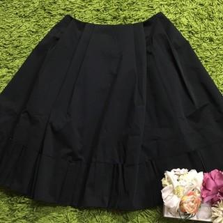 FOXEY - フォクシー レディボリューミースカート黒 定番硬め