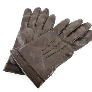 バーバリー(BURBERRY)のバーバリー 手袋 レディース美品  レザー(手袋)