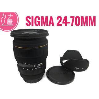 シグマ(SIGMA)の✨美品✨SIGMA 24-70mm f/2.8 EX DG CANON(レンズ(ズーム))