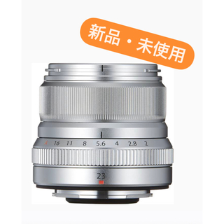 富士フイルム - 【新品】富士フイルム XF23mm F2 R WR シルバー  fujifilm