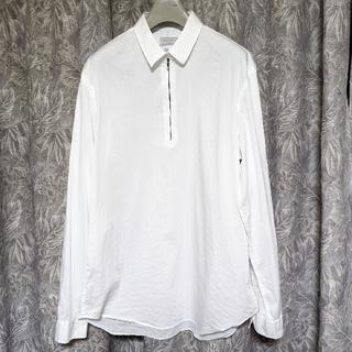 ザラ(ZARA)の未使用ZARAハーフZIPプルオーバーシャツ(シャツ)