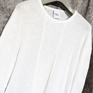 ザラ(ZARA)の未使用ZARAオーバーサイズレイヤードカットソー(Tシャツ/カットソー(七分/長袖))