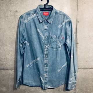 Supreme - Supreme Jacquard Denim Shirt