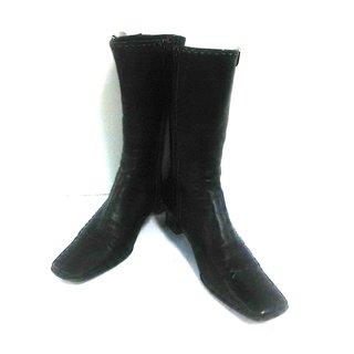 プラダ(PRADA)のプラダ ショートブーツ 36 1/2 レディース(ブーツ)