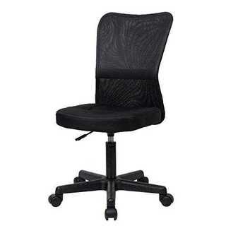ブラックナカバヤシ オフィスチェア デスクチェア メッシュチェア ブラック Z0(オフィスチェア)