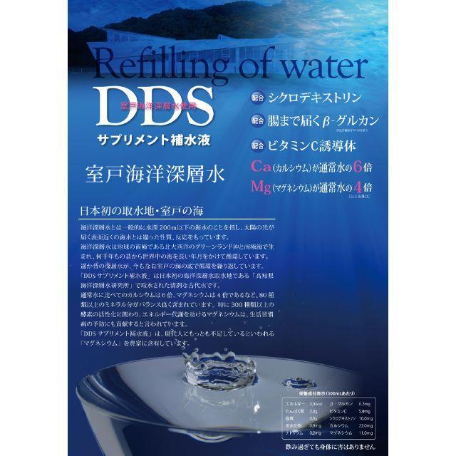 【残3ケース! 追加割引】アイテック DDSサプリメント補水液2ℓ×6本セット 食品/飲料/酒の飲料(ミネラルウォーター)の商品写真