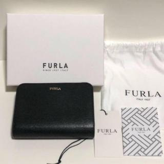 フルラ(Furla)のちー様専用 新品未使用 FURLA バビロン 二つ折り財布 ブラック(財布)