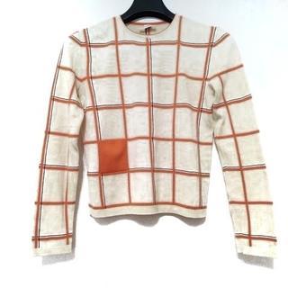 エルメス(Hermes)のHERMES(エルメス) 長袖セーター サイズ34 S(ニット/セーター)