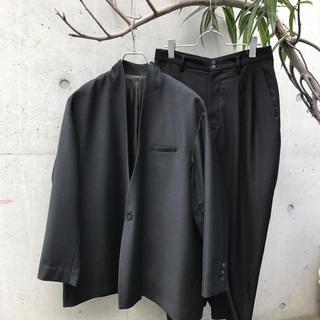 Yohji Yamamoto - ka na ta 10years jacket & pants set-up