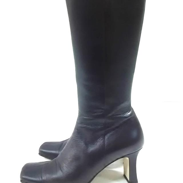 Balenciaga(バレンシアガ)のバレンシアガ ロングブーツ 35 1/2 黒 レディースの靴/シューズ(ブーツ)の商品写真