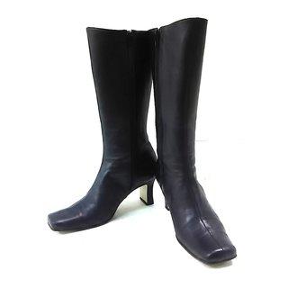 バレンシアガ(Balenciaga)のバレンシアガ ロングブーツ 35 1/2 黒(ブーツ)