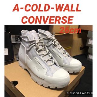 オフホワイト(OFF-WHITE)のACW X CONVERSE VULCANISED CHUCK TAYLOR (スニーカー)
